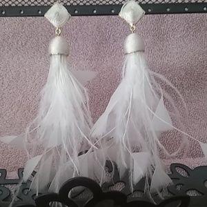 Baublebar Feather Earrings